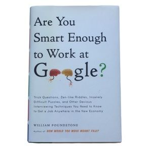 4/$25🌎Are You Smart Enough To Work At Google Book